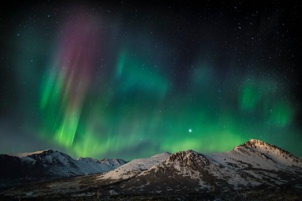 Aurora & Night Sky
