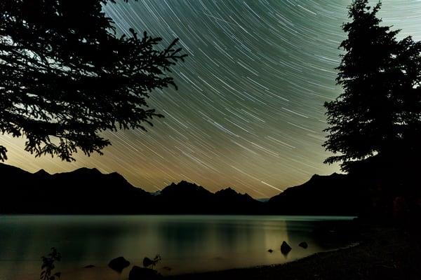 Crescent Lake Star Streak