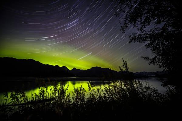 Knik River Star Lights