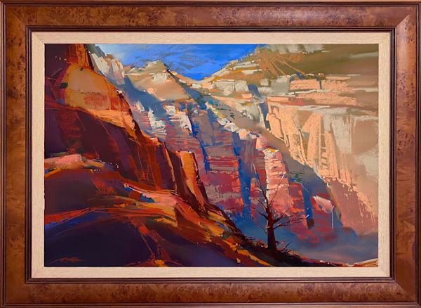 Canyon Light And Shadow Art | Michael Mckee Gallery Inc.