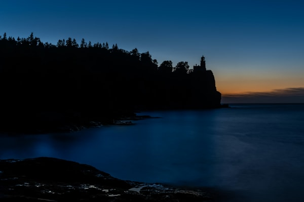 Blue Morning At Split Rock Lighthouse Photography Art | William Drew Photography