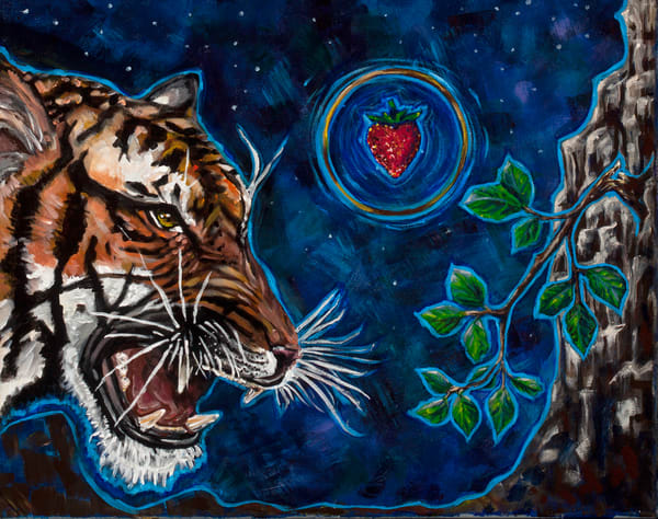 Eat The Stawberry Art | Metaphysical Art Gallery