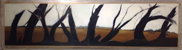 Winter Nighttime, Muddy Mississippi, Levee View Lower 9th, New Orleans Art | New Orleans Art Center