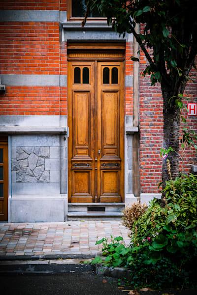 Doors of Ixelles No. 1, Brussels, Belgium 2018