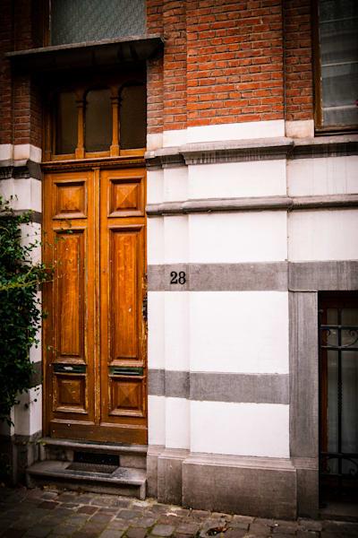 Doors of Ixelles No. 2, Brussels, Belgium 2018