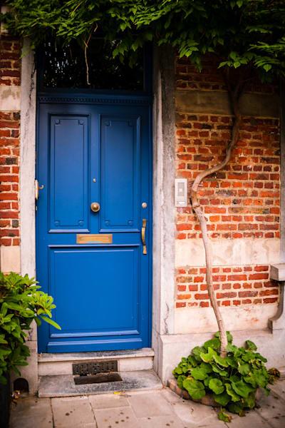 Doors of Ixelles No. 6, Brussels, Belgium 2018