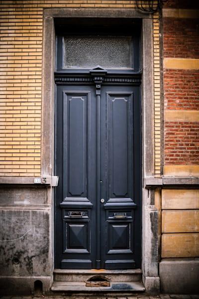 Doors of Ixelles No. 5, Brussels, Belgium 2018