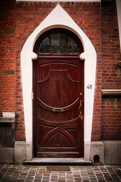 Doors of Ixelles No. 12, Brussels, Belgium 2018