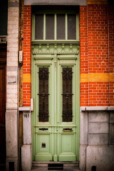 Doors of Ixelles No. 17, Brussels, Belgium 2018