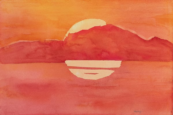 Golden Sunset Art | ArtByPattyKane