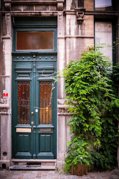 Doors of Ixelles No. 11, Brussels, Belgium 2018