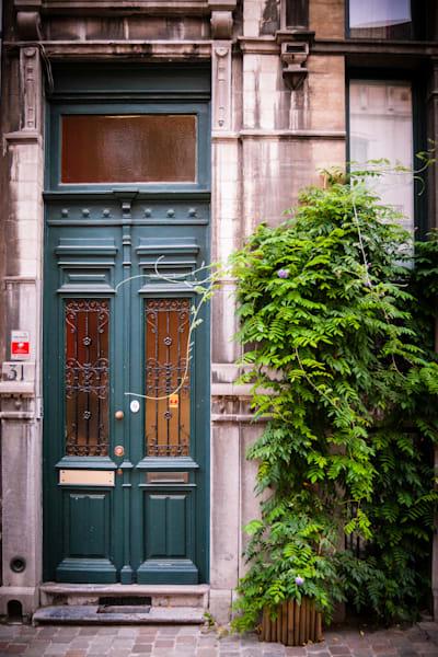 Doors of Ixelles No. 11, Brussels, Belgium 2018