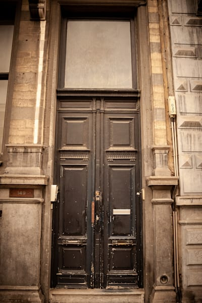 Doors of Ixelles No. 16, Brussels, Belgium 2018