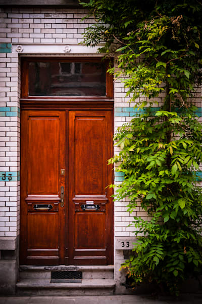 Doors of Ixelles No. 13, Brussels, Belgium 2018