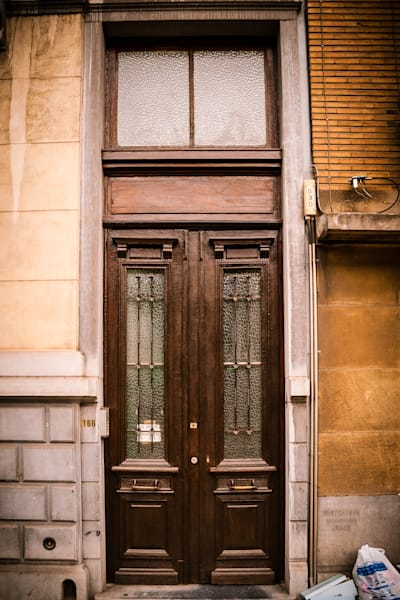 Doors of Ixelles No. 18, Brussels, Belgium 2018