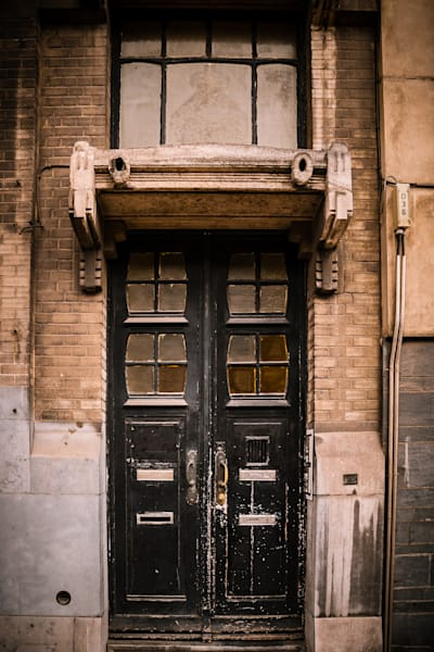 Doors of Ixelles No. 20, Brussels, Belgium 2018