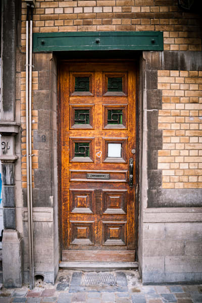 Doors of Ixelles No. 22, Brussels, Belgium 2018