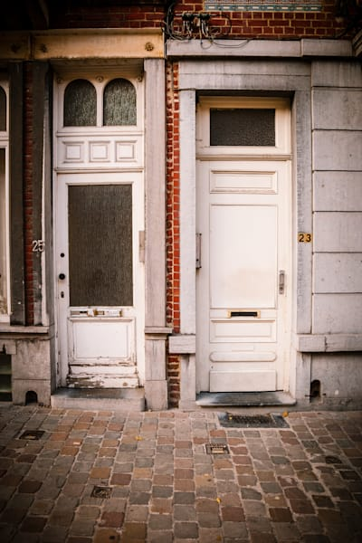 Doors of Ixelles No. 14, Brussels, Belgium 2018