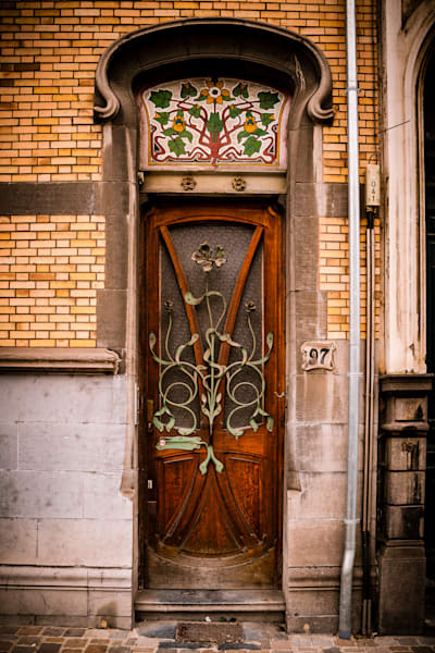 Doors of Ixelles No. 25, Brussels, Belgium 2018