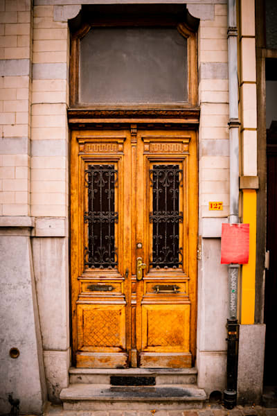 Doors of Ixelles No. 15, Brussels, Belgium 2018