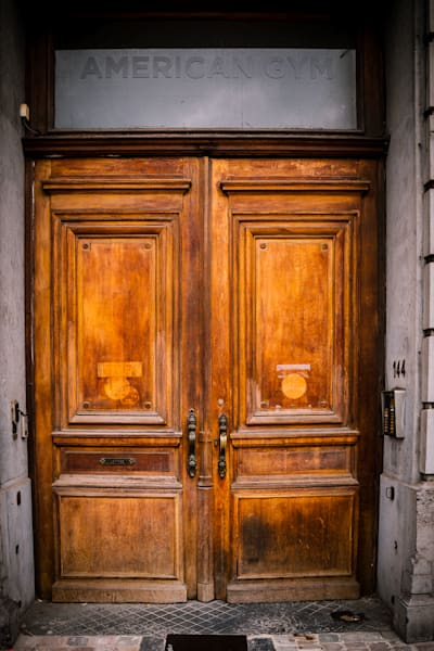 Doors of Ixelles No. 21, Brussels, Belgium 2018