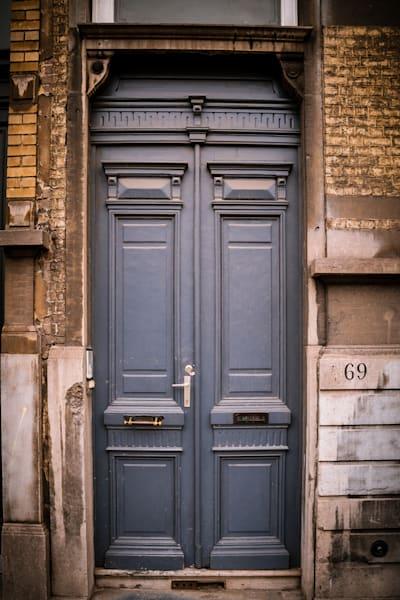 Doors of Ixelles No. 24, Brussels, Belgium 2018