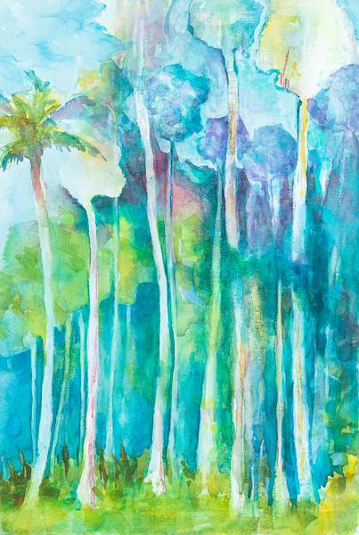 Tall Palms Art | ArtByPattyKane