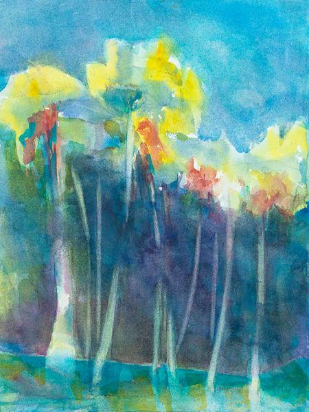 Yellow Palms Art | ArtByPattyKane