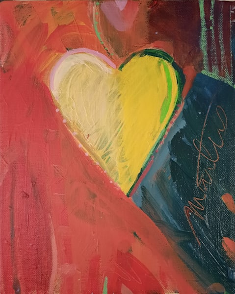 Piece Of My Heart V Art | All Together Art, Inc Jane Runyeon Works of Art