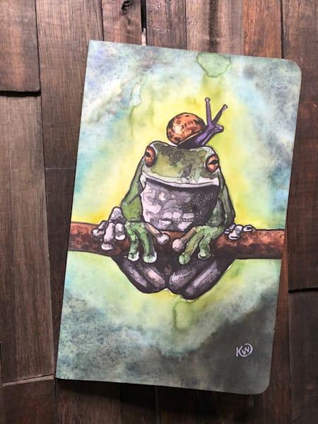 Frog And Snail Sketchbook/Journal | Water+Ink Studios
