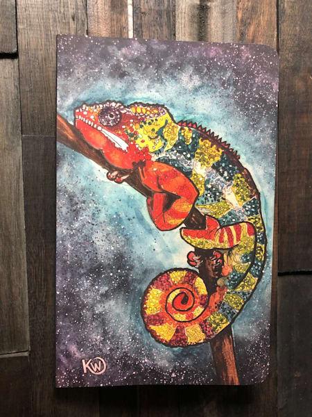 Panther Chameleon Sketchbook/Journal | Water+Ink Studios