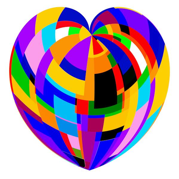 Heart Of Rectangles Merch Art   karenihirsch