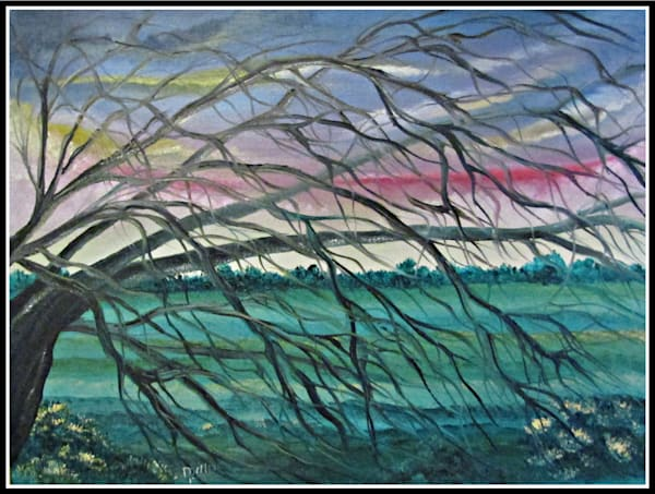 Branches In The Wind Art | Dave Jeffers Artist