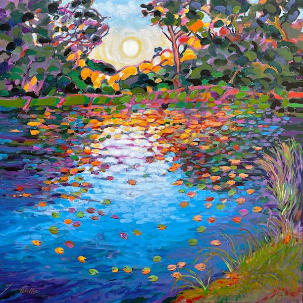 Dawn At The Pond Art | Charles Wallis