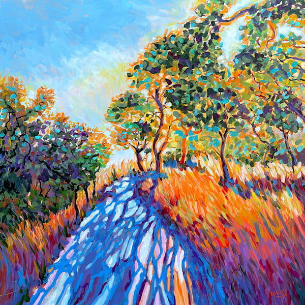 Over The Hill Through The Woods Art | Charles Wallis