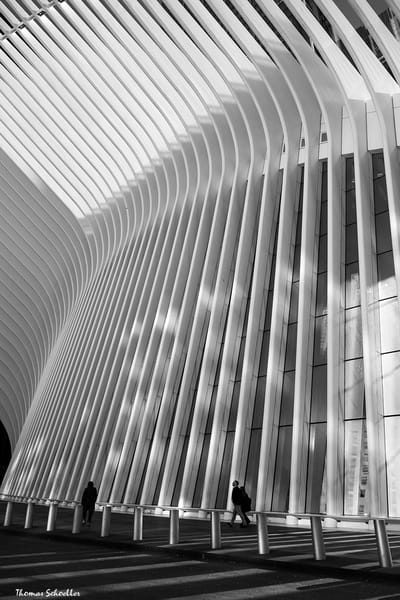 Abstract Architectural B&W Fine Art | The Oculus World Trade Center prints for sale