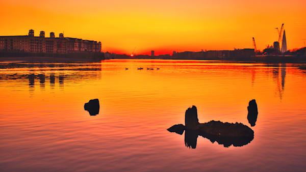 Serene Sunset Art   Martin Geddes Photography
