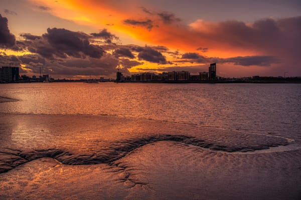 Natural Waves Of Woolwich Art | Martin Geddes Photography