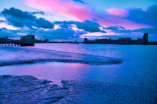 Woolwich Winter Blues Art | Martin Geddes Photography