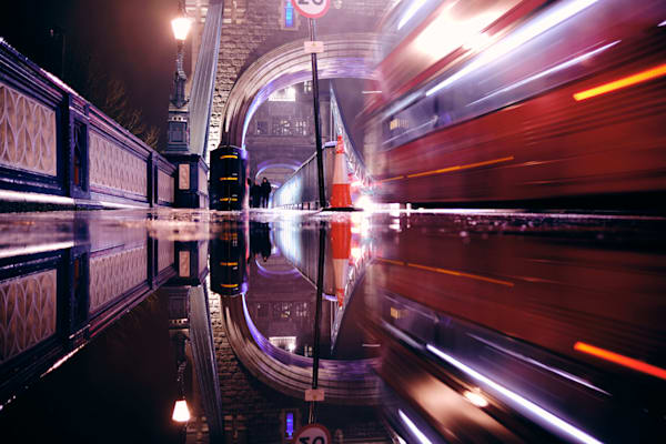 Tower Bridge Puddle #2 Art | Martin Geddes Photography