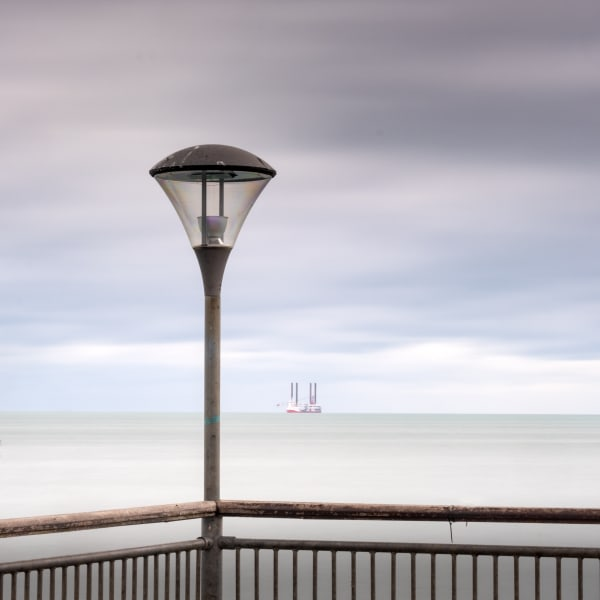 Boscombe Pier Light Study1 Art | Roy Fraser Photographer
