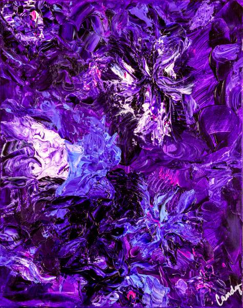 Purple Rain Art | Candy Country
