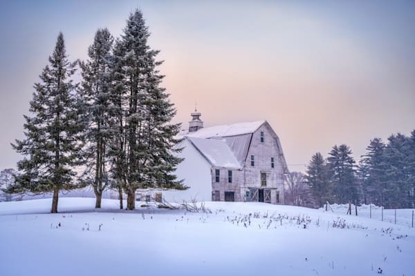Winter at the Barn | Shop Photography by Rick Berk