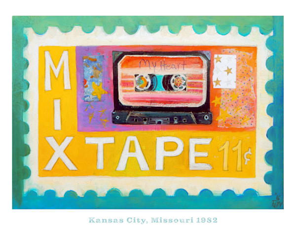 Bigmixtape Poster Art | Polly Alice Design
