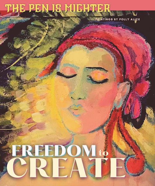 Freedom To Create Art   Polly Alice Design