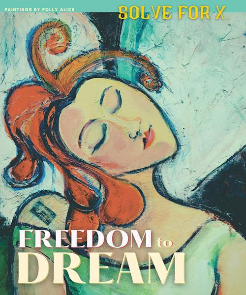 Freedom To Dream Art   Polly Alice Design