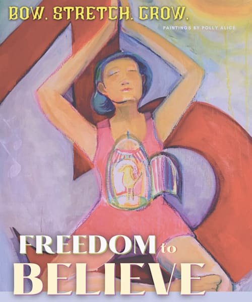 Freedom To Believe Art   Polly Alice Design