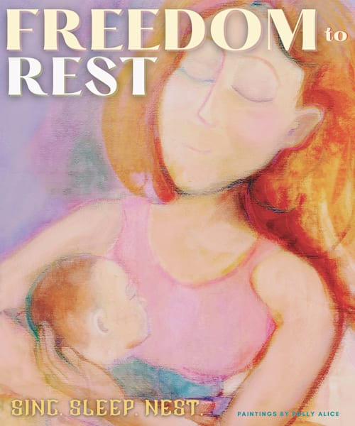 Freedom To Rest Art   Polly Alice Design