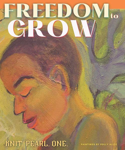 Freedom To Grow Art   Polly Alice Design