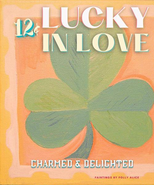 Lucky Love Stamp Art | Polly Alice Design